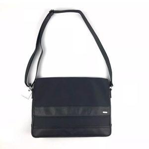 Calvin Klein messenger cross body bag black purse